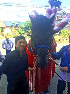 藤崎八旛宮秋季例大祭2018 飾り馬写真